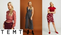 Be Tempted by Smart Women's Fashion Apparel On Sale at TEMT! Shop Jumpsuits, Knitwear, Blouses, Blazers & More! Perfect for the Office to Dinner