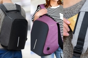 Keep Your Stuff Secure w/ an Anti-Theft Backpack! Ft. Hidden Zips & Tough Outer Fabric for Greater Security. Water Resistant, Available in 3 Colours