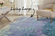 Live Large w/ an Extra Large Rug for Your Home! Shop a Range of Styles, Patterns & Sizes Designed to Fill & Anchor a Room. Ideal for Open Plan Spaces