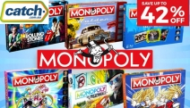 Gather the Gang for a Night of Fun with the Monopoly Megastore! Save Up to 42% Off the NRL Monopoly Game, DC Comics Originals Edition & More