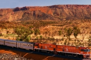 AUSTRALIAN OUTBACK Experience the Great Australian Rail Journey Onboard The Ghan! Choose from 2 All-Inclusive Routes, Incl. Off-Train Excursions