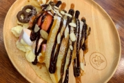 Indulge in Mouthwatering Treats at i-Creamy Gelato! Yummy Belgian Waffles or Opt for a Hot Crêpe with Gelato and Fudgy Brownie. Valid for 1 or 2