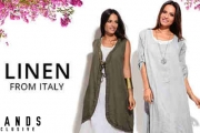 Create a Chic Everyday Ensemble w/ this Range of Italian-Made Linen Apparel for Women! Shop Elegant & Comfy Clothes Incl. Dresses, Jackets & More