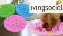 Make Dinner Time Fun for Your Pet w/ these Interactive, Silicon-made Bowls! Perfect for Slowing Down Your Pet's Eating Habits & Stimulating Them