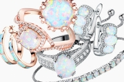 Sparkle & Shine for Summer w/ this Stunning Collection of Opal & Gemstone Jewels. 18KT Gold & White Plated + Genuine Opals. Excellent Gifts for Xmas