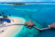 MALDIVES Holiday of a Lifetime w/ 5-Night Beach Villa Stay @ 5* Conrad Maldives! 2 Daily Meals & More. Home to the World's First Undersea Restaurant