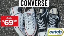 Get Your Hands on the Converse Bestsellers for All Ages Sale! All Adult Styles Just $69.99, Kids Styles Under $50! Ft. Hi Tops & Lo Tops. Plus P&H