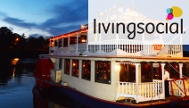 You'll Be Rollin' on the River w/ a Nepean River Paddlewheeler Cruise for Two! Incl. Devonshire Tea or Upgrade for a 'Winter Warmer' Lunch or Dinner