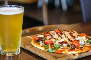 Nip Hunger in the Bud w/ a Pizza & Glass of Tap Beer from Just $10 at Incafe, CBD! Choice of Chicken or Vegetarian Pizza. Upgrade to Bring Friends