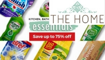 Bag a Bargain with Up to 75% Off Kitchen, Bathroom & Household Essentials! Stock Up Your Pantry w/ Organic Choice, Colgate, Dr Bronners, Finish & More