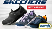 Treat Your Feet to Cloud-Like Comfort with New Skechers Footwear! Men, Women & Kid's Styles Incl. GoWalks, Equalizers, Fashion Fits & More