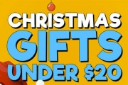 Get Your Christmas Pressies Sorted with Christmas Gifts Under $20! Shop Clothing, Homewares, Chocolates & More. Perfect for Kris Kringle Presents