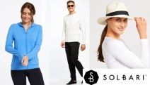 Be Sun Smart While Looking Cool! Solbari Clothing, Hats & Accessories for Men & Women Offer the Highest Sun Protection w/ Certified UPF50+ Fabrics