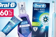 Look After Your Pearly Whites w/ an Oral B Pro 5000 Electric Toothbrush Starter Kit! Removes Up to 100% More Plaque than Manual Brushes. Plus P&H