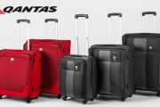 Fly In Style w/ QANTAS Shanghai & Dubai Soft Rollercases! Shop Single, Two or Three Piece Luggage Sets in Vivid Red or Classic Black