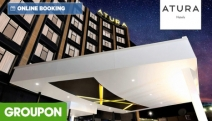 ALBURY, NSW Enjoy a One Night Escape at Atura Albury! Nestled in Albury's Thriving CBD. Stay in a Deluxe Room for 2 with Buffet Breakfast & More
