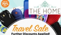 Planning a Holiday? Travel with Flair with this Collection from the Summer Travel Sale! Shop Up to 70% Off Top Brands Incl. Antler, Crumpler & More