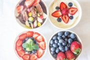 You'll Be Smiling w/ $10 Worth of Frozen Yoghurt for Just $6 at YoFlo Newstead! Wide Selection of Froyo Flavours & Toppings Plus Smoothies & More