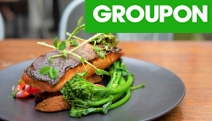 Meeting Up w/ Friends? Dine on Delicious Pub Feed @ The Stables Bistro w/ 3-Courses & Drinks for 2 or 4! Salmon Fillets, Spiced Chicken Wings & More