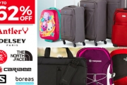 Planning a Big Trip these Holidays? Get Your Packing Sorted w/ the Huge Luggage Clearance! Shop a Range of Styles from Antler, The North Face & More
