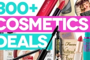 Bag a Bargain on All Your Fave Cosmetics w/ the Mega Cosmetics Sale! Shop Over 300 Items from Brands Incl. Jurlique, Maybelline, Revlon & More