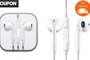 Must-Have Item for Road Trip Season! Original Apple Earpods Only $19! Don't Pay $45! Designed to Reduce Sound Loss while Sits Comfortably in the Ear