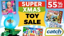 Put a Smile on Little Ones Faces with the Super Christmas Toy Sale! Enjoy Up to 55% Off Huge Range of Toys & Games, Books, Arts & Crafts + More