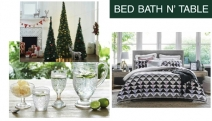 Shop All Things Home w/ the Bed Bath N' Table Summer Sale! Be Treated to Up to 50% Off 800TC Cotton Sateen Sheets, Pop Up Trees, Merida Towels & More