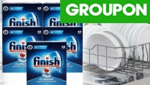 Fight Tough Stains & Dirt with High-Performance Finish Powerball Classic Dishwashing Tablets! Incl. 340 Tablets to Clean Dishes, Glasses & More