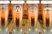 Say Cheers w/ Personalised Premium Beer Glass Sets! Shop Up To 6 Glass Sets & Put a Different Name on Each Glass if You Wish! Huge Range of Designs