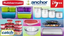 Need Help Organising Your Kitchen? Keep Things Neat & Tidy w/ the Anchor Hocking & Rubbermaid Kitchen + Storage Essentials! 6-Pc Container Sets & More