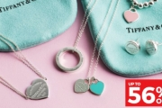 Shower Your Special Someone with a Gorgeous Gift this Christmas from Tiffany & Co. Jewellery! Shop Up to 56% Off Bracelets, Earrings, Pendants & More