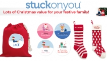 Start Ticking Off Your Christmas List w/ 15% Off Personalised Christmas Products w/ Code FESTIVEFAMILY! Stockings, Baby Onesies, Decorations & More