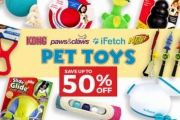 Shop the Furr-pect Toys for Your Pet with Up to 50% Off Big Brand Pet Toys: NERF, KONG, iFetch & More! Squeaky Toys, Interactive Ball Launcher & More