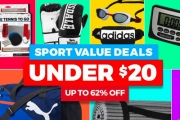 Kick-Start Your Wellness in the NY w/ this Sport Value Steals Sale! Everything Under $20! Incl. Active Wear, Sport Equipment, Accessories & More