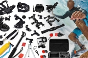 Capture Every Moment of Your Adventure with a 14-Piece Accessory Kit for GoPro HD Hero 1, 2, 3, 3+ and 4! Upgrade for 34 or 44-Piece Set
