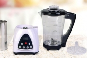 Make Soup Faster w/ this Digital Soup Maker! Cooks & Blends, Crushes Ice & Mixes Solids & Liquids. Ft. 1.7L Capacity, Thermostat & More