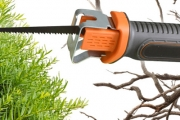 Say Goodbye to Gardening Woes & Unruly Hedges & Trees w/ this Cordless Pruning Saw! Ft. Rechargeable Battery & Detachable A-Grip Holder
