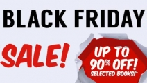 Calling All Bookworms, Time to Update Your Reading List with the Black Friday Book Sale! Grab Bestsellers & Latest Releases for Up to 90% Off