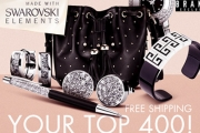 Treat Yourself to Beautiful Jewellery w/ SWAROVSKI Elements Mega Sale! 400 Styles of Jewellery PLUS Handbags & Accessories! + Free Shipping