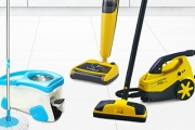 Discover the Smarter Way To Clean with the Spin & Steam Mop Sale! Designed for Efficiency & Spotless Performance. Shop Spin Mops, Steamers & More