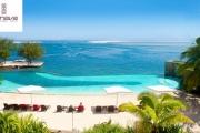 TAHITI 5-Night Modern Family Retreat by the Ocean at Manava Suite Resort! Brekkie, WiFi, Infinity Pool & Bar, Spa & More. One Kid u/14 Stays Free