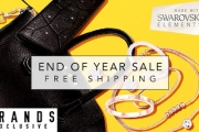 Don't Miss this Brilliant Swarovski Elements End of Financial Year Sale! Shop Bags, Bracelets, Earrings, Watches & More. Plus, Enjoy Free Shipping!