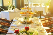 Spend a Fabulous Day w/ Your BFF on an Exquisite High Tea for 2 at Cucina Locale Revolving Restaurant in Blacktown! Sweet & Savoury Treats & More
