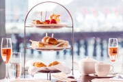 Indulge w/ a High Tea + Dessert Table & Chandon for 2 @ The Sailmaker Hyatt Regency! Enjoy Sweeping Views of Darling Harbour. Upgrade for 4-Ppl