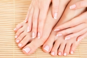 Get Your Toes in Tip-Top Shape w/ a Pedicure & Reflexology Foot Massage from Thai Indulgence Massage & Spa! Includes Glass of Sparkling Wine