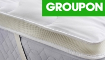 Sleep in Cloud-Like Comfort with the Airmax Bamboo Mattress Topper! Ft. Single to King Sizes, Bamboo & Polyester Fill w/ Air Mesh Sidewall Panelling