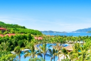 VIETNAM 5 Nights in a Beachfront Villa at 5* Vinpearl Resort, Nha Trang! Incl. Access to Vinpearl Land Amusement Park, All Meals, Massages & More