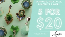 Complete Your Outfit with 5 for $20 Sale from Lovisa! Shop Fab Accessories Ft. Hoop Earrings, Loop Necklaces, Thick Bangles, Chain Bracelets & More