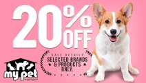 Your Pet will be Paw-sitively Delighted w/ the My Pet Warehouse Summertime Sale! Get 20% Off Eukanuba, Royal Canin, Hill's Science & More